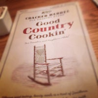 Photo taken at Cracker Barrel Old Country Store by Sparks R. on 3/31/2012