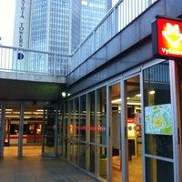 Photo taken at Metro =C= Vyšehrad by Anastasia D. on 12/24/2011