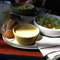 Photo taken at Panera Bread by Katerina A. on 4/14/2012