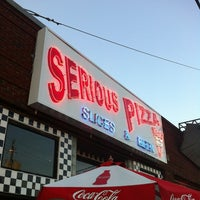 Photo taken at Serious Pizza by Scott M. on 6/2/2012