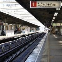 Photo taken at Nishinakajima-Minamigata Station (M14) by ゆきのぶ on 2/15/2011