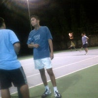 Photo taken at Tennis 25 -Sports Club by Arief J. on 1/27/2012