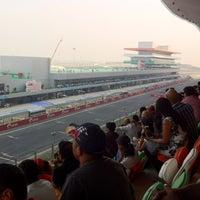 Photo taken at Buddh International Circuit by Manav on 10/30/2011