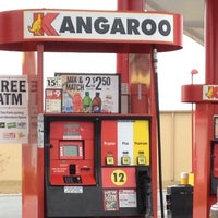 Photo taken at Kangaroo Express by Amber B. on 1/21/2012