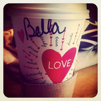 Photo taken at Starbucks by Bella on 2/7/2012