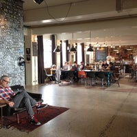 Photo taken at Kex Hostel by Erica K. on 9/1/2012