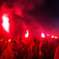 Photo taken at Beira-Rio Stadium by Wagner P. on 4/5/2012