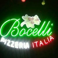 Photo taken at Bocelli Pizzeria Italia by David R. on 7/18/2012