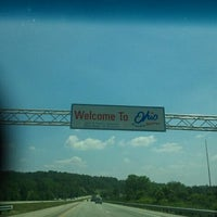 Photo taken at Indiana / Ohio State Line by Beth D. on 7/31/2011