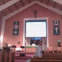 Photo taken at Fort Ord Chapel by David B. on 8/28/2011