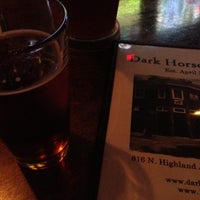 Photo taken at Dark Horse Tavern by Jeffrey on 9/1/2012
