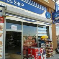 Photo taken at Erkan Efes Shop by Menduha on 8/31/2012