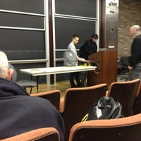 Photo taken at NYU Courant Institute of Mathematical Sciences by james l. on 2/11/2012
