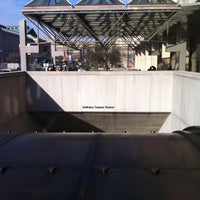 Photo taken at Judiciary Square Metro Station by GreatStoneFace on 1/5/2012