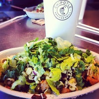 Photo taken at Chipotle Mexican Grill by Caitlin Ann D. on 4/17/2012
