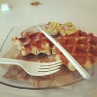 Photo taken at Blu Cafe by Sara S. on 9/9/2012