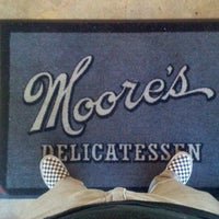 Photo taken at Moore's Delicatessen by Curt S. on 10/12/2011