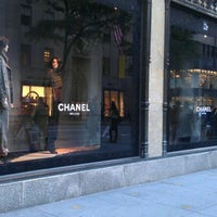 photo taken at chanel at saks 5th avenue by on 9182011