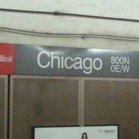 Photo taken at CTA - Chicago (Red) by Althia M. on 9/3/2011