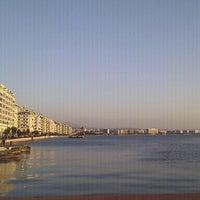 Photo taken at Thessaloniki Port by Maija M. on 12/27/2011