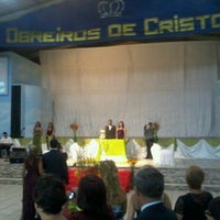 Photo taken at Igreja Obreiros De Cristo Sede by Marcio F. on 12/4/2011