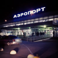 Photo taken at Bolshoye Savino International Airport (PEE) by Irina V. on 9/4/2012