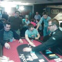 Photo taken at Kajot Poker Club by Milan R. on 4/3/2012