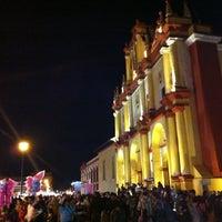 Photo taken at Iglesia De Santo Domingo by Betty Jerez D. on 4/8/2012