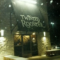 Photo taken at Twisted Rooster by Brian D. on 1/28/2012