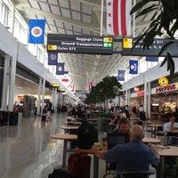 Photo taken at Terminal B by Jennifer W. on 7/31/2012