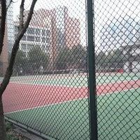 Photo taken at 浙江大学西溪校区网球场 by Adam W. on 2/1/2012