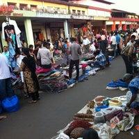 Photo taken at Mapusa Market by Alexander B. on 12/16/2011