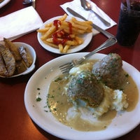 Photo taken at Mayfair Diner by D R. on 7/30/2011