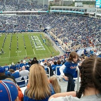 Photo taken at Commonwealth Stadium by Karl K. on 9/24/2011