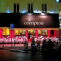 Photo taken at Le Comptoir du Relais by Vlad D. on 8/16/2012