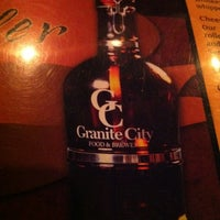 Photo taken at Granite City Food & Brewery by Justin W. on 2/19/2012