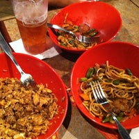 Photo taken at Genghis Grill by Bethany H. on 8/17/2011