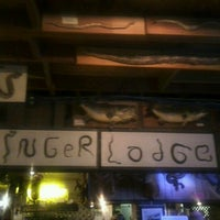 Photo taken at Linger Lodge Restaurant & Bar by Crissy T. on 10/8/2011