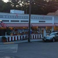 Photo taken at Wellfleet Marketplace by Joseph B. on 8/9/2012