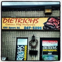Photo taken at Dietrich's Meat Warehouse by Sid F. on 8/11/2012