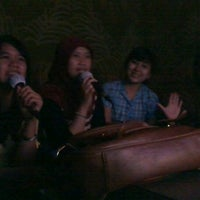 Photo taken at NAV Karaoke Keluarga by Mia M. on 3/28/2012