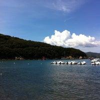 Photo taken at Spiaggia Bagnaia by Nicola A. on 7/25/2011