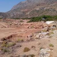 Photo taken at Ancient Falasarna by Manuz on 7/28/2012