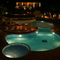 Photo taken at Ambassador Hotel Thessaloniki by Milos M. on 7/19/2012