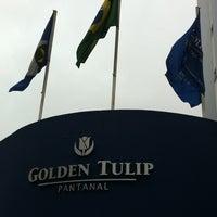 Photo taken at Hotel Golden Tulip Pantanal by LEONARDO S. on 3/19/2011