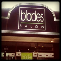Photo taken at Blades Salon and Day Spa by Amy M. on 9/22/2011