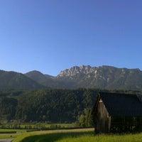Photo taken at Haus im Ennstal by Claudia K. on 9/9/2012