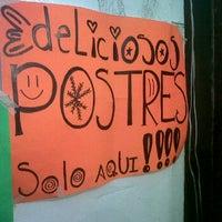 Photo taken at Deliciosos postres by Paola E. on 1/27/2012