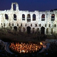 Photo taken at Herod Atticus Odeon by Christos K. on 6/4/2011