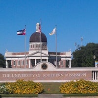Photo taken at The University of Southern Mississippi by Trent O. on 10/15/2011